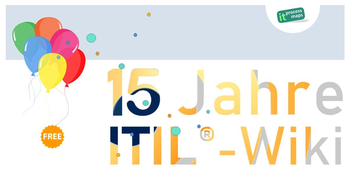 IT Process Wiki - das ITIL®-Wiki - feiert seinen Geburtstag: Dieses Wiki enthält breite, kostenlose Ressourcen zu ITIL sowie frei verfügbare Unterlagen zu IT Service Management und ISO 20000.