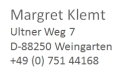 IT Process Maps Partner: Margret Klemt